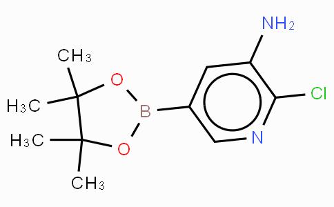3-Amino-2-chloropyridine-5-boronic acid, pinacol ester