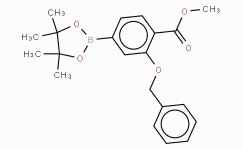 3-Benzyloxy-4-methoxycarbonylphenylboronic acid, pinacol ester