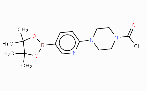 2-(4-Acetylpiperazin-1-yl)pyridine-5-boronic acid, pinacol ester