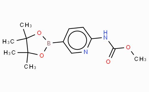 2-Methoxycarbonylaminopyridine-5-boronic acid, pinacol ester