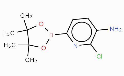 3-Amino-2-chloropyridine-6-boronic acid, pinacol ester