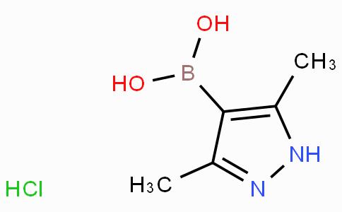 3,5-Dimethyl-1H-pyrazole-4-boronic acid, hydrochloride
