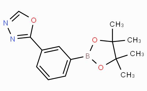 2-[3-(4,4,5,5-Tetramethyl-1,3,2-dioxaborolan-2-yl)phenyl]-1,3,4-oxadiazole