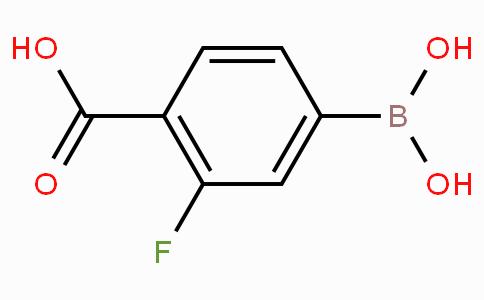 4-Carboxy-3-fluorophenylboronic acid