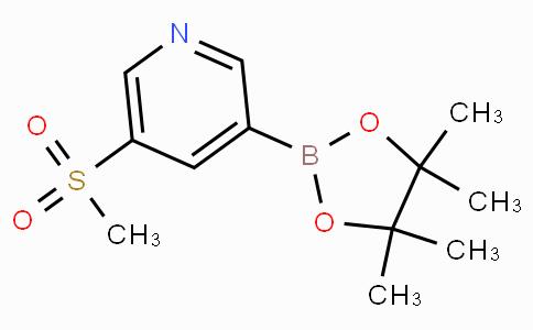 5-(Methylsulfonyl)pyridine-3-boronic acid pinacol ester