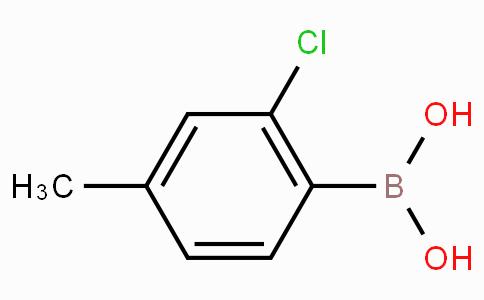2-Chloro-4-methylphenylboronic acid