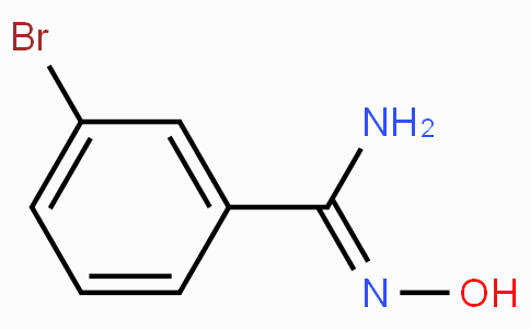 3-Bromo-N'-hydroxybenzenecarboximidamide