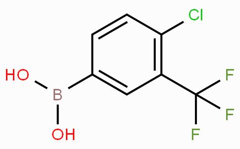 4-Chloro-3-(trifluoromethyl)phenylboronic acid