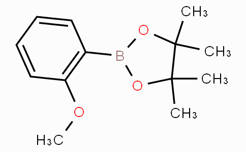 2-(2-Methoxyphenyl)-4,4,5,5-tetramethyl-1,3,2-dioxaborolane