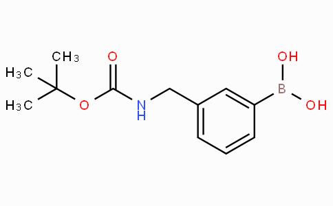 3-((N-boc-amino)methyl)phenylboronic acid