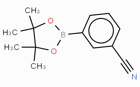 3-(4,4,5,5-四甲基-1,3,2-二氧杂硼烷-2-基)氰苯