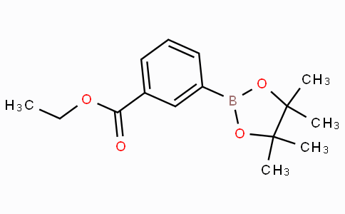 3-(4,4,5,5-四甲基-1,3,2-二氧硼戊环-2-基)苯甲酸乙酯