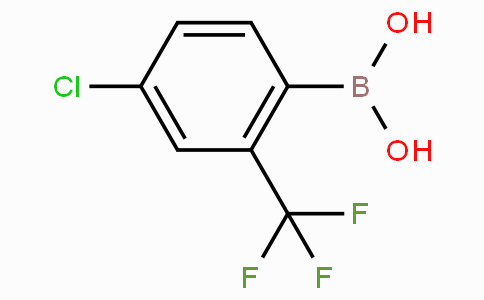 4-Chloro-2-(trifluoromethyl)phenylboronic acid