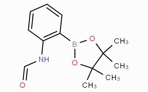 N-[2-(4,4,5,5-四甲基-1,3,2-二氧硼戊环-2-基)苯基]甲酰胺