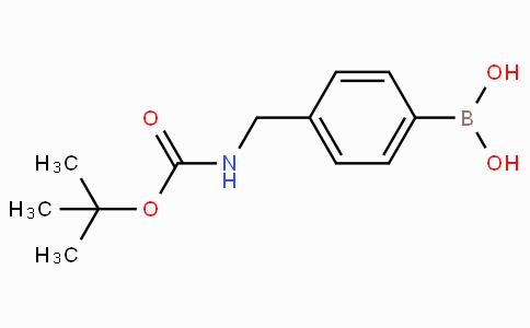 4-(N-BOC-氨甲基)苯基硼酸