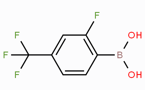 2-Fluoro-4-(trifluoromethyl)phenylboronic acid