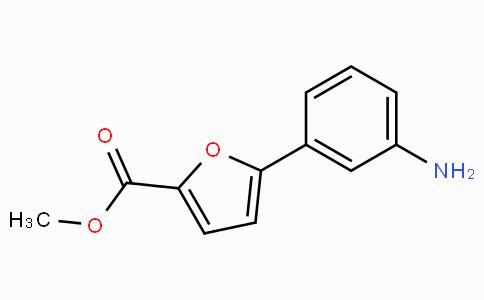 5-(3-氨基苯基)呋喃-2-羧酸甲酯