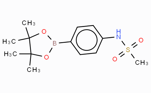 4-Methanesulfonylaminophenylboronic acid, pinacol ester