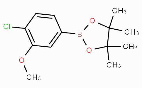 4-Chloro-3-methoxyphenylboronic acid pinacol ester