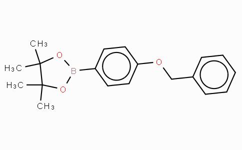 2-(4-苄氧基苯基)-4,4,5,5-四甲基-1,3,2-二杂氧戊硼烷