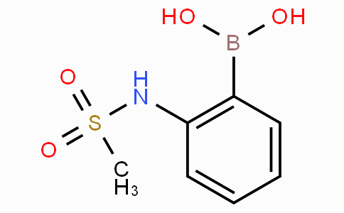 2-Methanesulfonylaminophenylboronic acid