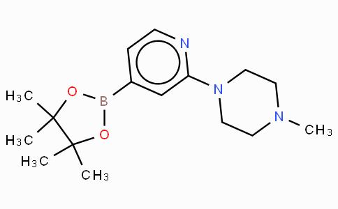 2-(4-Methylpiperizinyl)pyridine-4-boronic acid pinacol ester