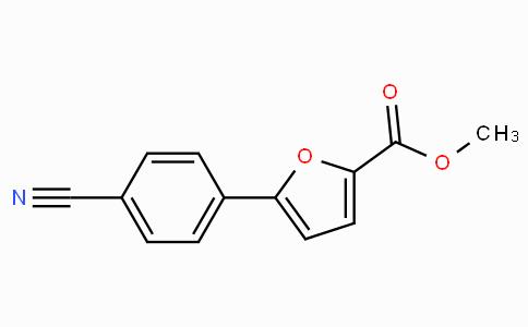 Methyl 5-(4-cyanophenyl)furan-2-carboxylate