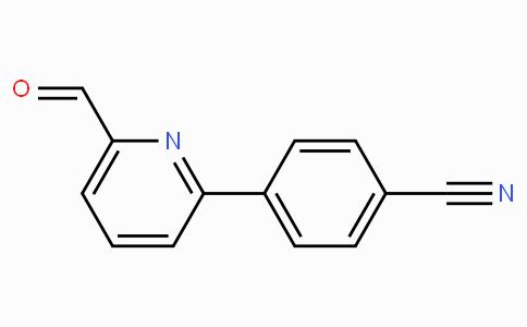 3-(6-甲酰基吡啶-2-基)苯甲腈