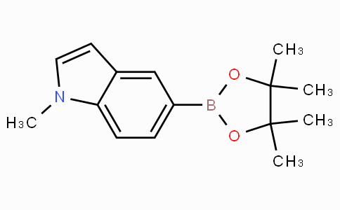 1-甲基吲哚-5-硼酸频哪醇酯