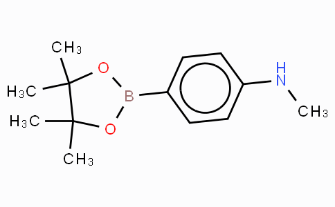 4-(N-methylamino)phenylboronic acid, pinacol ester