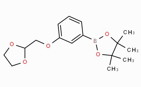3-[1,3]Dioxolan-2-ylmethoxyphenylboronic acid pinacol ester