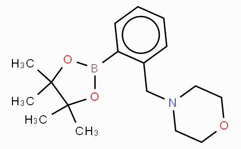2-(4-Morpholinomethyl)phenylboronic acid pinacol ester