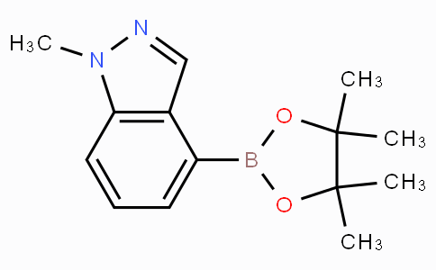 1-Methyl-1H-indazole-4-boronic acid pinacol ester