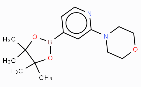 2-Morpholinopyridine-4-boronic acid, pinacol ester
