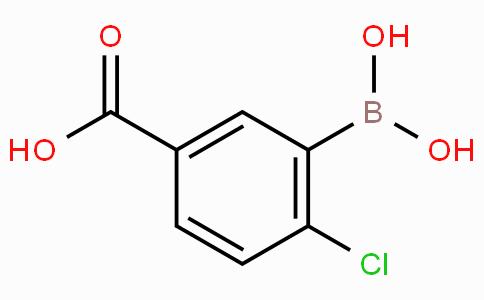 5-羧基-2-氯苯硼酸