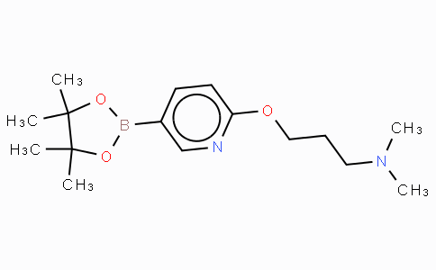 6-(3-N,N-dimethylamino-propoxy)pyridine-3-boronic acid pinacol ester
