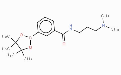 N- [3-(N',N'-二甲基氨基)丙基]苯甲酰胺-3-硼酸,频哪醇酯
