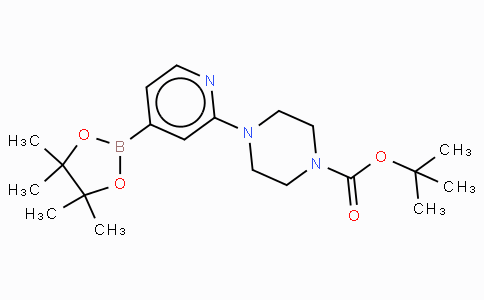 2-(4-Tert-butoxycarbonylpiperazin-1-yl)pyridine-4-boronic acid, pinacol ester