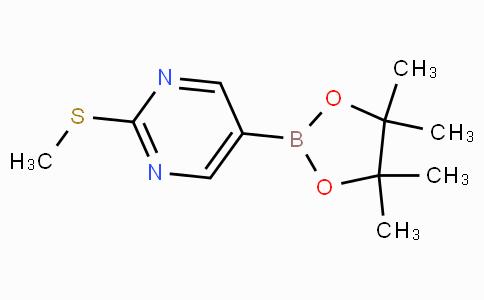 2-甲基硫代嘧啶-5-硼酸频那酯