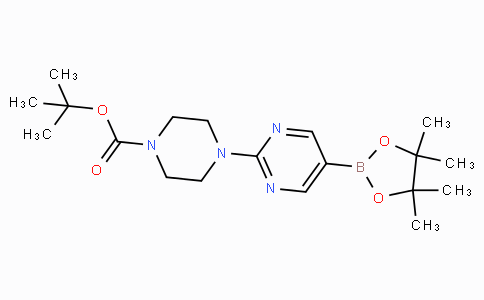 2-(4-Boc-piperazin-1-yl)pyrimidine-5-boronic acid pinacol ester