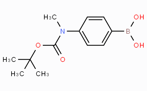 4(Tert-butoxycarbonyl-N-methylamino)-phenylboronic acid
