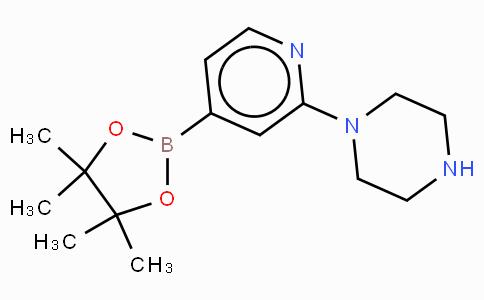 2-(Piperazin-1-yl)pyridine-4-boronic acid, pinacol ester