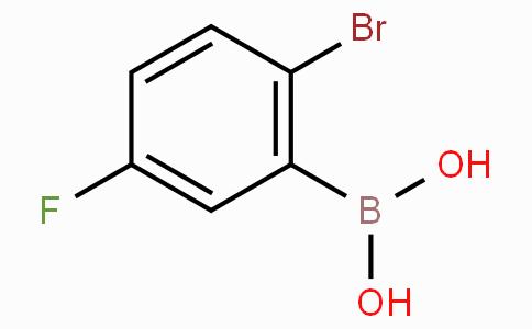 2-Bromo-5-fluorophenylboronic acid