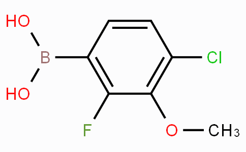 4-Chloro-2-fluoro-3-methoxyphenylboronic acid