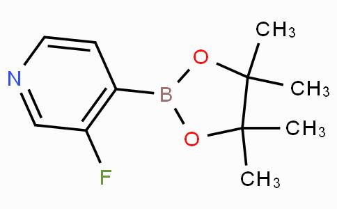 3-Fluoro-4-(4,4,5,5-tetramethyl-1,3,2-dioxaborolan-2-yl)pyridine