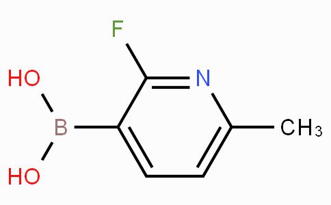 2-Fluoro-6-picoline-3-boronic acid
