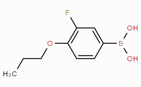 3-Fluoro-4-propoxyphenylboronic acid