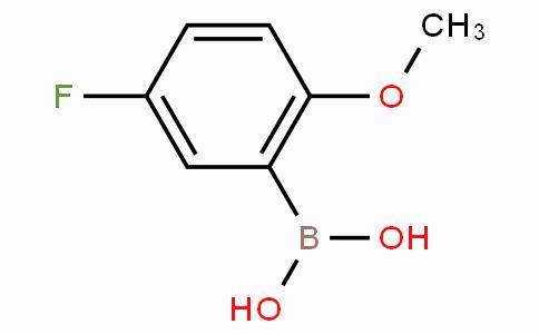 5-Fluoro-2-methoxyphenylboronic acid