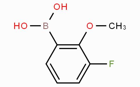 3-Fluoro-2-methoxyphenylboronic acid