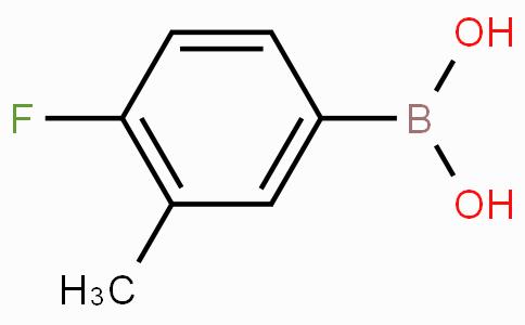4-Fluoro-3-methylphenylboronic acid